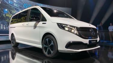 Mercedes EQV - front