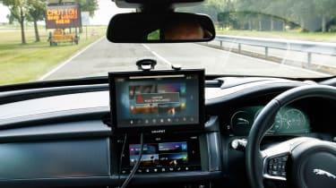 JLR autonomous car tech