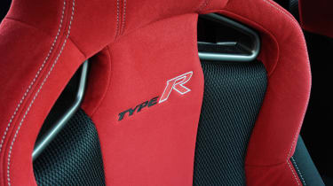 Honda Civic Type R - seats detail