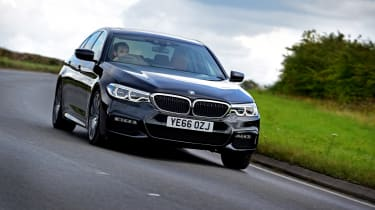 BMW 5 Series - second report front cornering