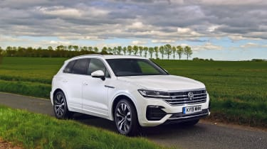 Volkswagen Touareg long termer - first report front static