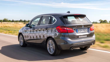 BMW 2 Series Active Tourer eDrive - rear tracking