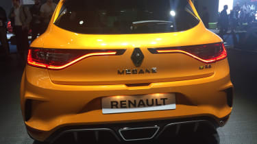 New Renault Megane RS - rear