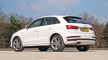 Audi Q3 - rear static