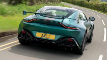 Aston Martin Vantage F1 Edition - rear action
