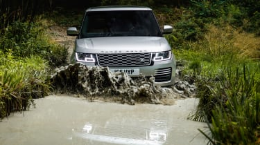 Range Rover PHEV - off-road