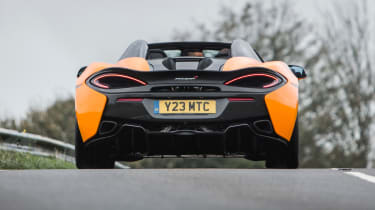 New McLaren 570S Spider - rear