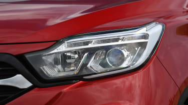 SsangYong Musso long term review - headlight