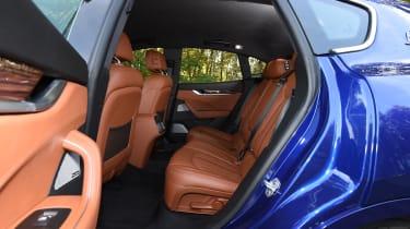 Maserati Levante used review - rear seats