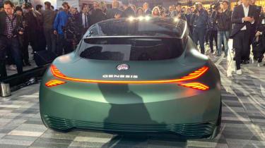 Genesis Mint Concept - New York full rear