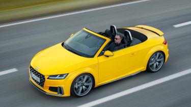 Audi TT Roadster - above