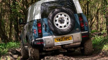 Defender Hard Top - rear off roading