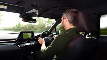 Toyota C-HR - driving