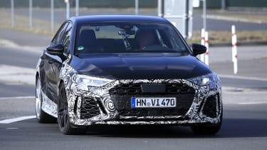 Audi RS3 2021 spy - front