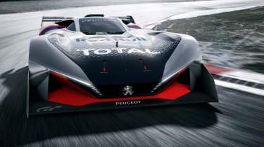 Peugeot L750 R Hybrid Vision Gran Turismo - front corner