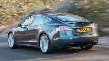 Tesla Model S P100D - rear