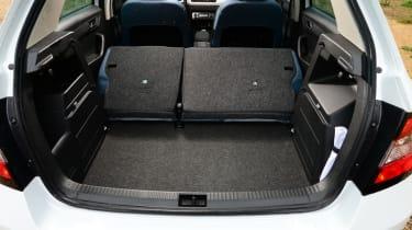 Skoda Fabia - boot seats down
