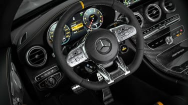 Mercedes-AMG C 63 S Coupe - cabin