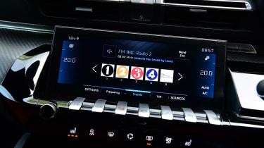Peugeot 508 SW - radio