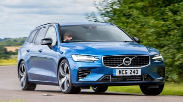 Volvo V60 T8 Twin Engine - front action