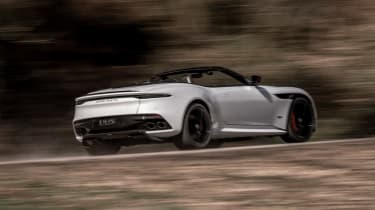 Aston Martin DBS Superleggera Volante - rear action