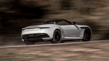 Aston Martin DBS Superleggera Volante - rear action