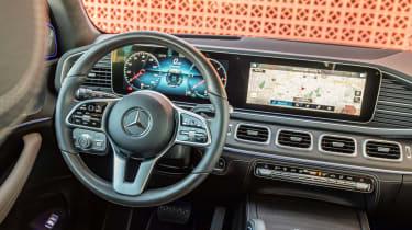 Mercedes GLE - cabin