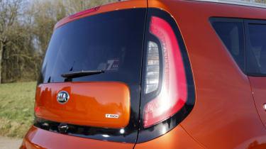 Kia Soul Sport - driver's tail-light