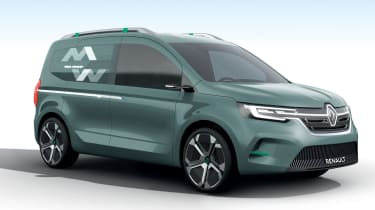 Renault Kangoo ZE Concept - front static