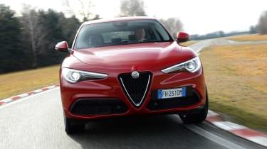 Alfa Romeo Stelvio - full front