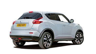 Used Nissan Juke review - rear