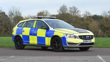 Volvo V60s police car - static