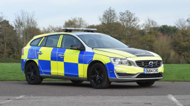 Volvo V60s police car - static