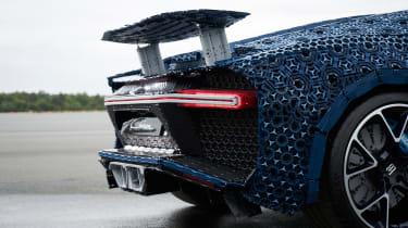 Lego Bugatti Chiron - spoiler