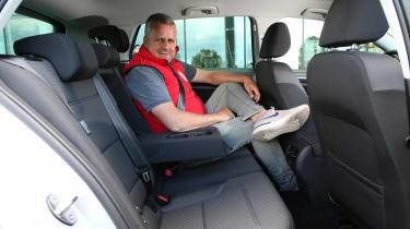 Volkswagen e-Golf - rear seats