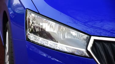 Skoda Fabia SE L: long-term test review - first report front light