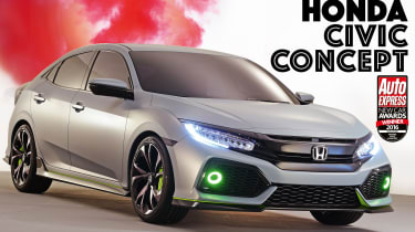 New Car Awards 2016: Design Award - Honda Civic Concept