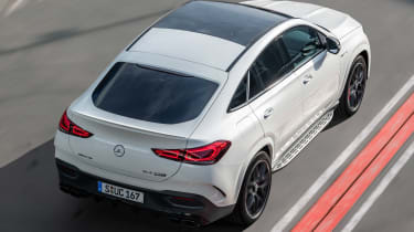 Mercedes-AMG GLE 63 S Coupe - rear above