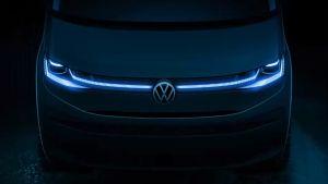 New 2021 Volkswagen Transporter T7 van teased