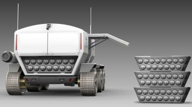 Toyota lunar vehicle - rear