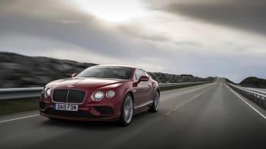 Bentley Contintental GT Speed 2015 tracking