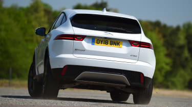 Jaguar E-Pace - rear cornering