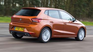 Seat Ibiza FR- rear tracking