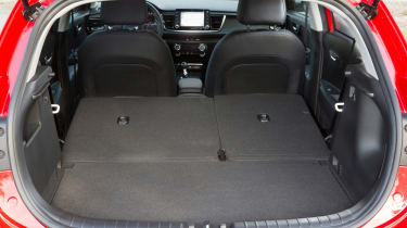 New Kia Rio - official boot seats down