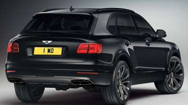 Bentley Bentayga V8 Design Series - black rear