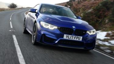 BMW M4 CS - front action