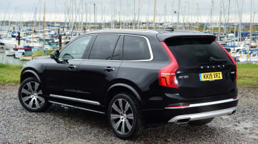 Volvo XC90 - rear static