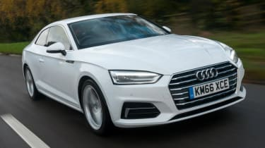 Audi A5 Coupe - front