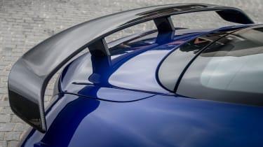 Bentley Continental Supersports 2017 - Moroccan Blue spoiler