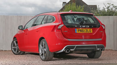 Used Volvo V60 - rear